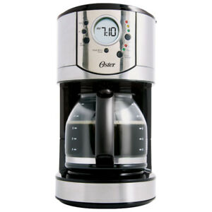 Coffee Maker Oster 12-Cup  (BVSTCJ0031-33A) - Stainless Steel