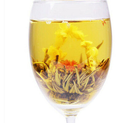 Hand Tied Individually Wrapped Jasmine Flowering / Blooming Tea Balls BH