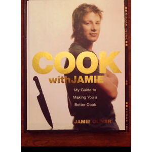 Jamie Oliver Hardcover Cook book