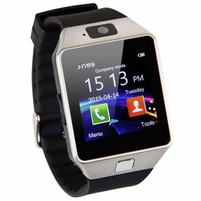 DZ09 Bluetooth Smart Watch Phone + Camera SIM Card Slot For Android IOS Phones