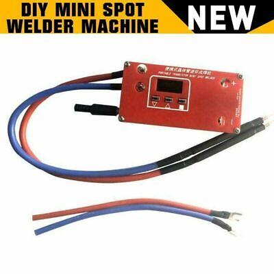 Portable Diy Mini Spot Welder Machine Battery Various Welding Power Supply Usa