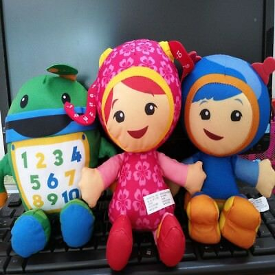 Details About 3pc Team Umizoomi Bot Milli Geo 9 Plush Toy Stuffed Doll Collection Kids Gift