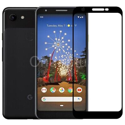 For Google Pixel 3A XL Screen Protector Best Tempered Glass Thin Full (Best Tempered Glass Screen Protector For Pixel)