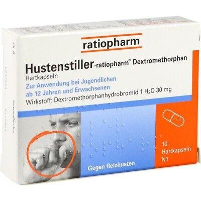 HUSTENSTILLER ratioph.Dextromethorphan Kapseln 10 st  PZN9230807