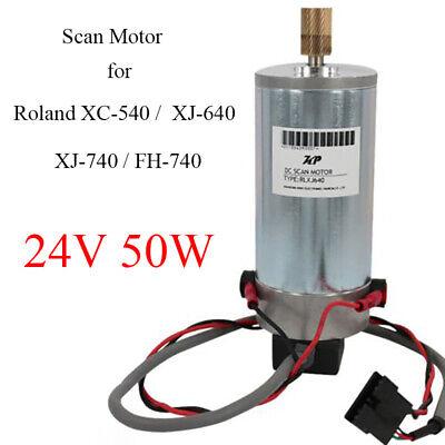 24v Scan Motor For Roland Fh-740 Xc-540 Xj-540 Xj-640 Xj-740 Aj-740i Aj-1000i