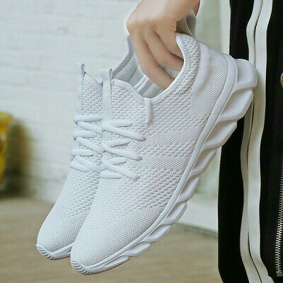 6 Pairs Mens Running  Breathable Athletic Casual Sneakers Sport Tennis Gym Shoes