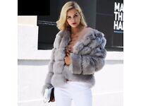 Brand New Faux Fur Coat