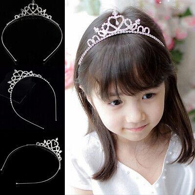 Hotest  Rhinestone Tiara Hair Band Kid Girl Bridal Princess Prom Crown Headband - Tiara Head Band