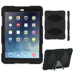 Survivor Military Duty Rugged Case - iPad Air 2 - Black