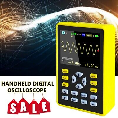 New Handheld Digital Oscilloscope 100mhz 500mss Dso 2.4 Inch Ips Lcd Display