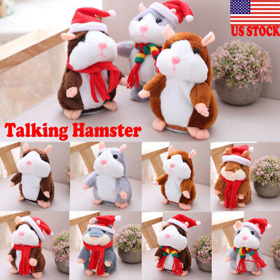 Cheeky Hamster Talking Mouse Pet Christmas Kids Gift High Quality Free Shipping ()