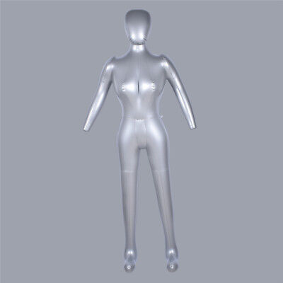 1pc Female Full Body Hat Dress Pants Display Mannequin Inflatable Model Dummy