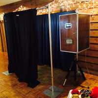 Beautiful Handcrafted Maple Photo Booth - High Quality Prints