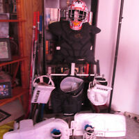 Fully Equipped Youth Goalie Gear. In Great Condition.