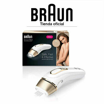 Depiladora de Luz Pulsada Braun Silk-Expert Pro 5 IPL5014 Depilación permanente