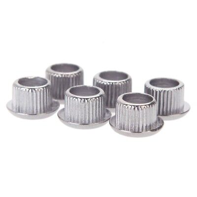 M6F5 Guitar Tuner Conversion Bushings Adapter Ferrules Nickel Plating for 10mm
