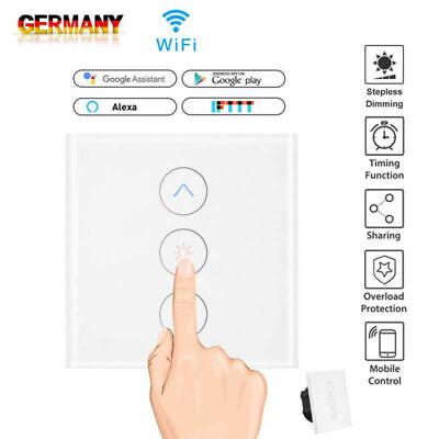 Dimmer WiFi Touchschalter Smart Home Automation Lichtschalter Wandschalter Panel