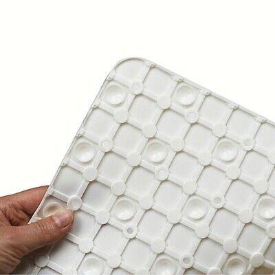 Tappeto bagno antiscivolo Doccia 55x55 Quadrato Tappetino Piatto con Ventose