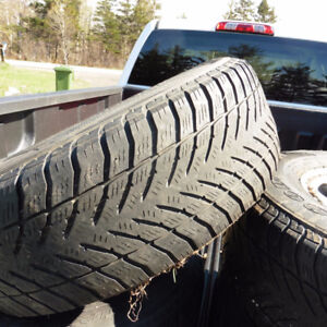 Tacoma and other suv WINTER tires on rims 245 70R16