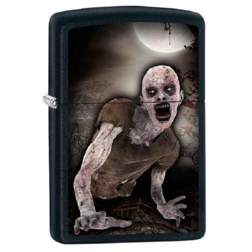Zippo Lighter - Zombie & Moon Black Matte - 853431