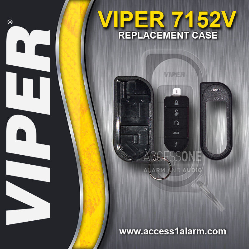 Viper 7152V 1-Way Remote Control Replacement Transmitter Case For Viper 5202V