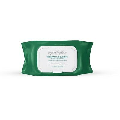 Hydropeptide Hydroactive Cleanse 30 Cloths