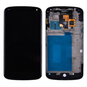 LG Google Nexus 4 E960 LCD Screen Touch Digitizer Replacement wi
