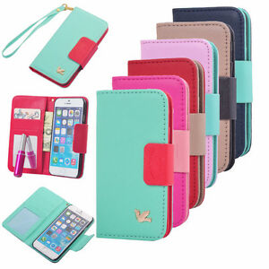 Phone Flip Case with Card Holder's Purse