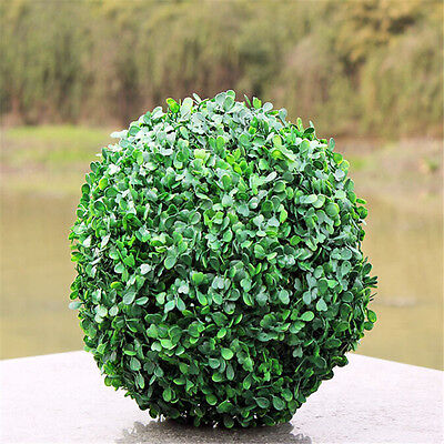 - NEW ARTIFICIAL BUXUS BALL BOXWOOD HANGING TOPIARY GARDEN FAKE POTS GRASS Decor
