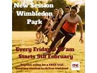 New Fitness Session - Wimbledon Park every Friday - 9.30am - Free trial
