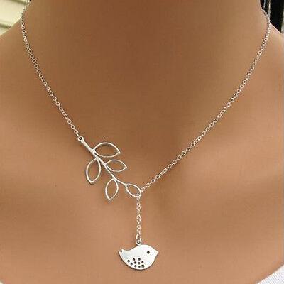 Fashion Charm Jewelry Bird Choker Chunky Statement Bib Pendant Chain Necklace