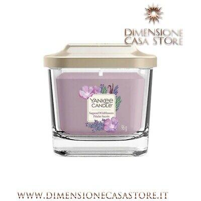 YANKEE CANDLE Candela Cera Profumata Piccola Linea Elevation Sugared Wildflowers