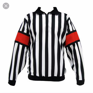 Looking for a hockey ref shirt sz S adult