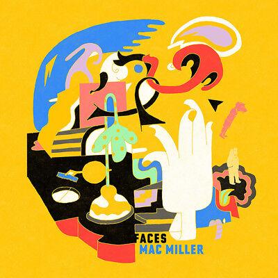 Mac Miller Faces Art Poster 32x32
