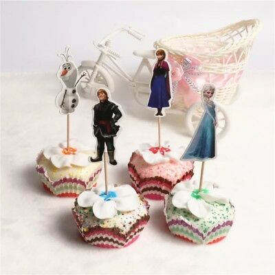 ~Frozen~Cupcake Toppers 24pcs Party Favor 2 - Frozen Cupcake Topper