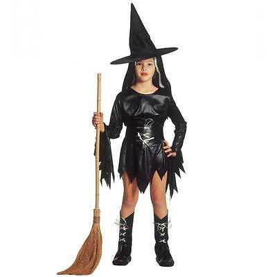 Kinder Hexe Kostüme (Hexe ** Kinderkostüm Fasching ~ Evil Witch ~ 128 140 158 Hexenmädchen MORGANA)