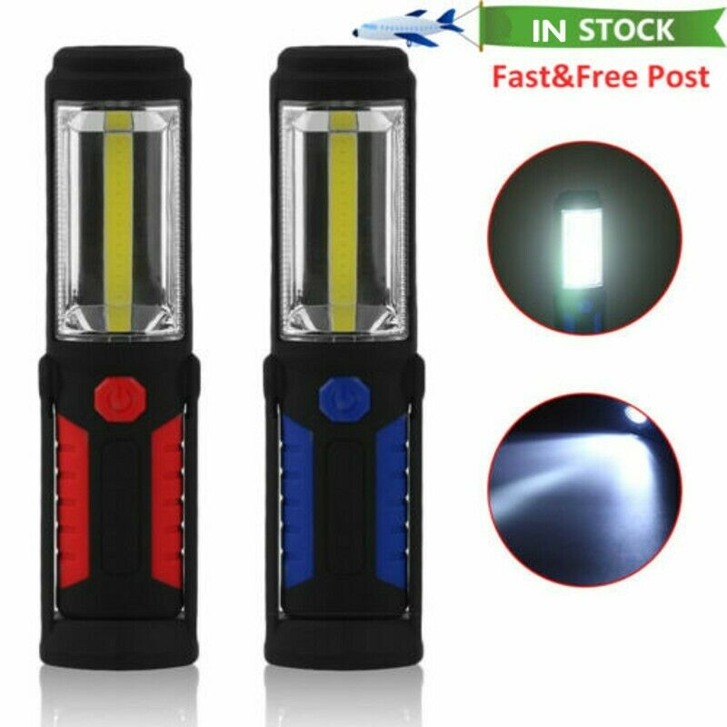 ABS 5000LM USB LED Rechargeable Work lights Repair Lamp Inspection Light BT