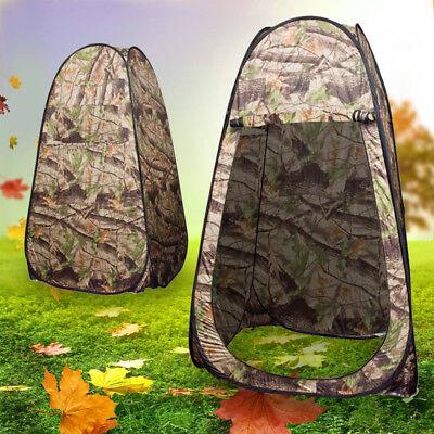 Duschzelt Umkleidezelt Toilettenzelt Pop-Up Zelt f. Camping Camouflage LI 02