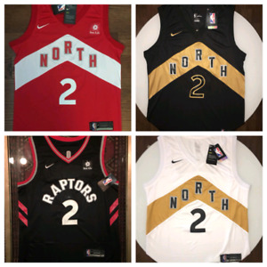 Kawhi Leonard Siakam Ibaka Lowry OVO Toronto Raptors jersey