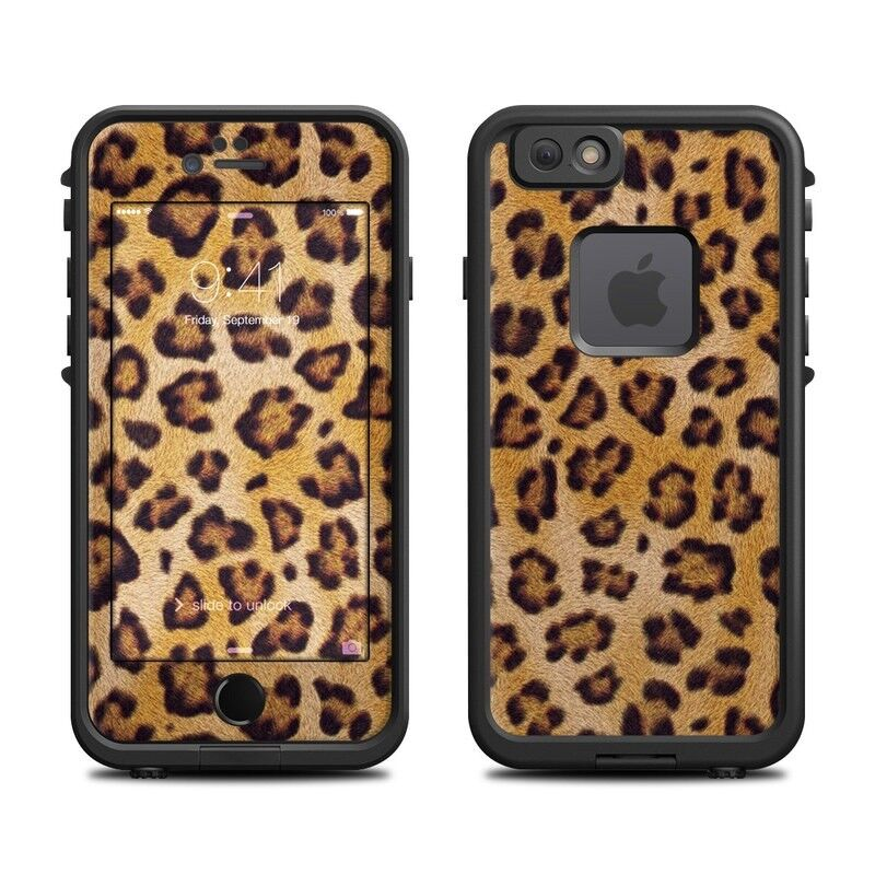 Skin for LifeProof FRE iPhone 6/6S - Leopard Spots - Sticker Decal