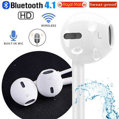 For Apple iPhone X 8 7Plus Bluetooth Earphones Wireless Headset Volume Headphone