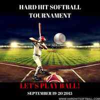Hard Hit Softball Tournament
