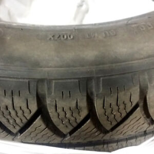 Michelin Pilot Alpin : 225/45R18 winter tires for BMW
