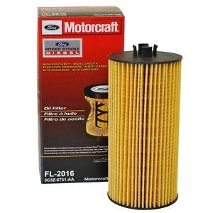 Motorcraft Fl2016 Engine Oil Filter Ford V8 6 4l 6 0l