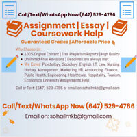We help you do your Assignment /Essay / Coursework and more..