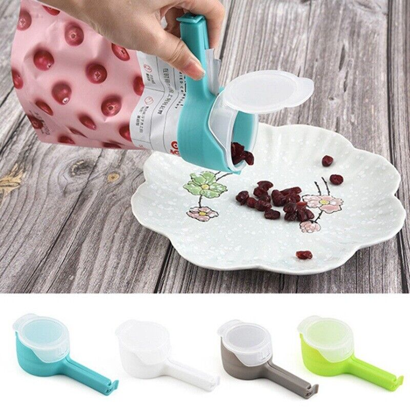 Food Seal Clip pour Storage Bag Clips Snack Sealing Clip Clamp Sealer hot