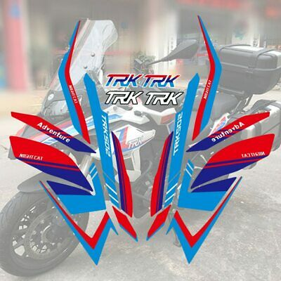 For Benelli TRK502 Fuel Tank Sticker Decals 3D Tank Pad Motorcycle Accessories