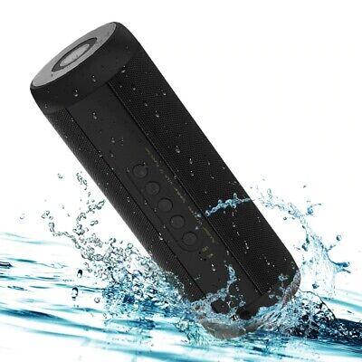 Wireless Bluetooth Speakers Best Waterproof Portable Outdoor- Black