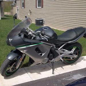 2007 Kawasaki Ninja incl. extras