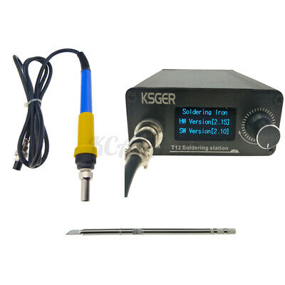 KSGER 896℉ Digital Soldering Station Electric Soldering Iron Tips + 9501 Kit